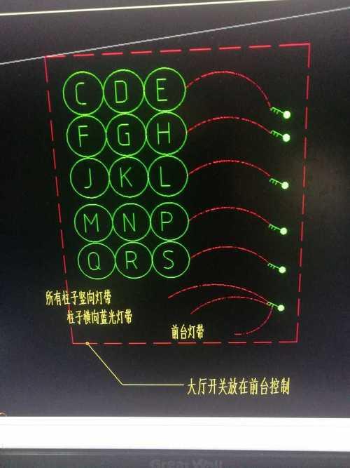安装,重庆,答疑:以下图片是灯带图,除了开关,其他字母符号该怎么理解?-重庆安装,