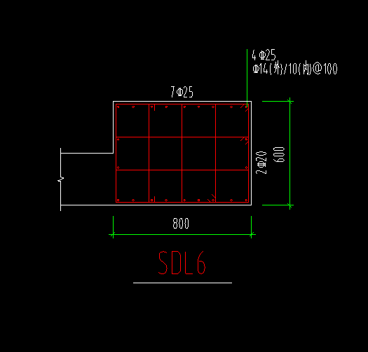 土建,土建算量GTJ2018,江苏,结算,答疑:人防里面的SDL用柱子还是墙布置,如图-江苏土建,结算,土建算量GTJ2018,