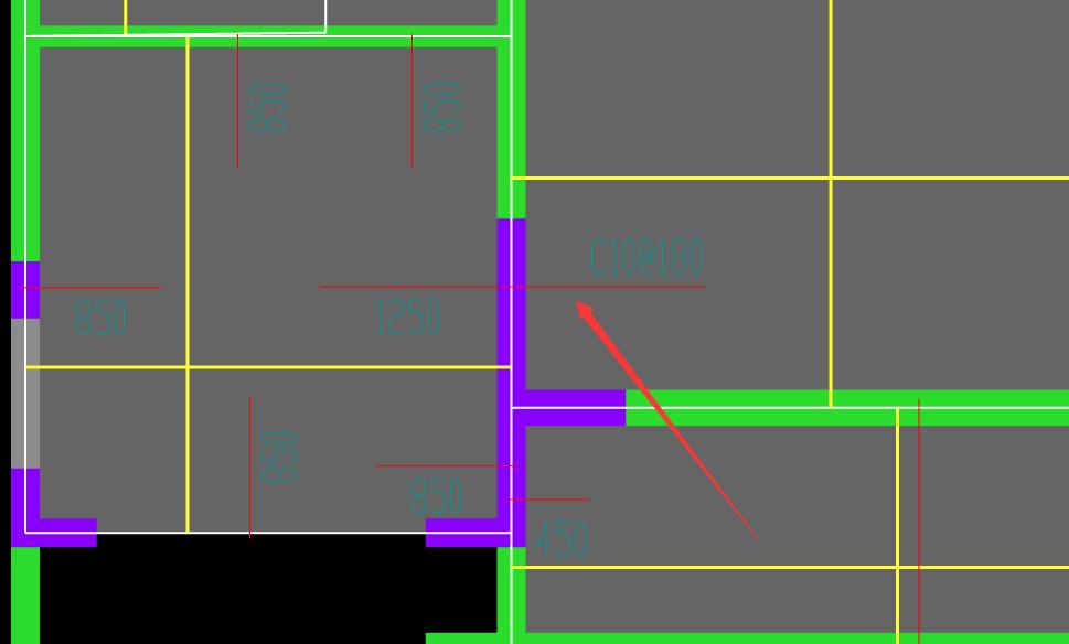 四川,土建,土建算量GTJ2018,结算,答疑:这种钢筋我是用跨版受力筋还是用负筋布置呢?-四川土建,结算,土建算量GTJ2018,